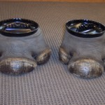 Elephant Feet Ashtrays